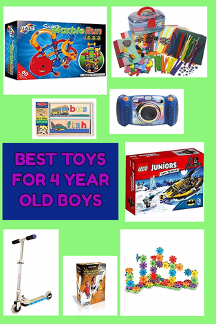 Awesome Toys for 4 Year Old Boys